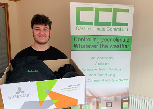 Kieran Rhodes has joined the team at @CastleClimate in Northampton https://t.co/ovChWkUv9r https://t.co/WyldRR4h8V