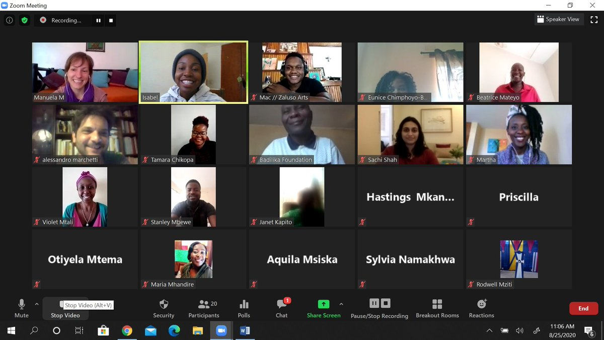 Its just before LUNCH, and we are WRAPPING up our Teams and Talents Thinkpod 5!  What an awesome Thinkpod it has been and we are grateful to team @edge_Kenya for facilitating great sessions. #SIIChampions @egisa_org  @Zalusoarts  @CewagM  @cavwocmalawi  @RoboticsMalawi https://t.co/3pGWjzzZ13
