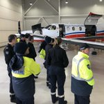 Image for the Tweet beginning: The #FlyingDoctor & @airservicesnews recently
