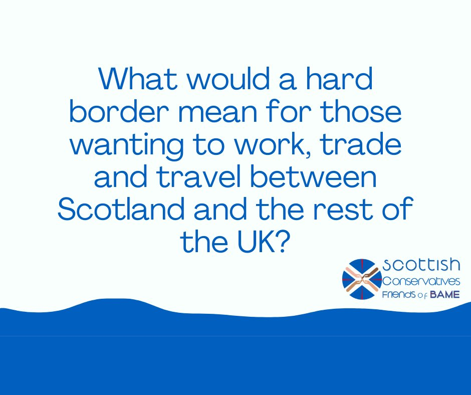 ICYMI here is our latest blog where we look at what a hard border between Scotland and #England might mean for those wanting to work, trade and travel between #Scotland and the rest of the UK -   #DiversityandInclusion #BAME