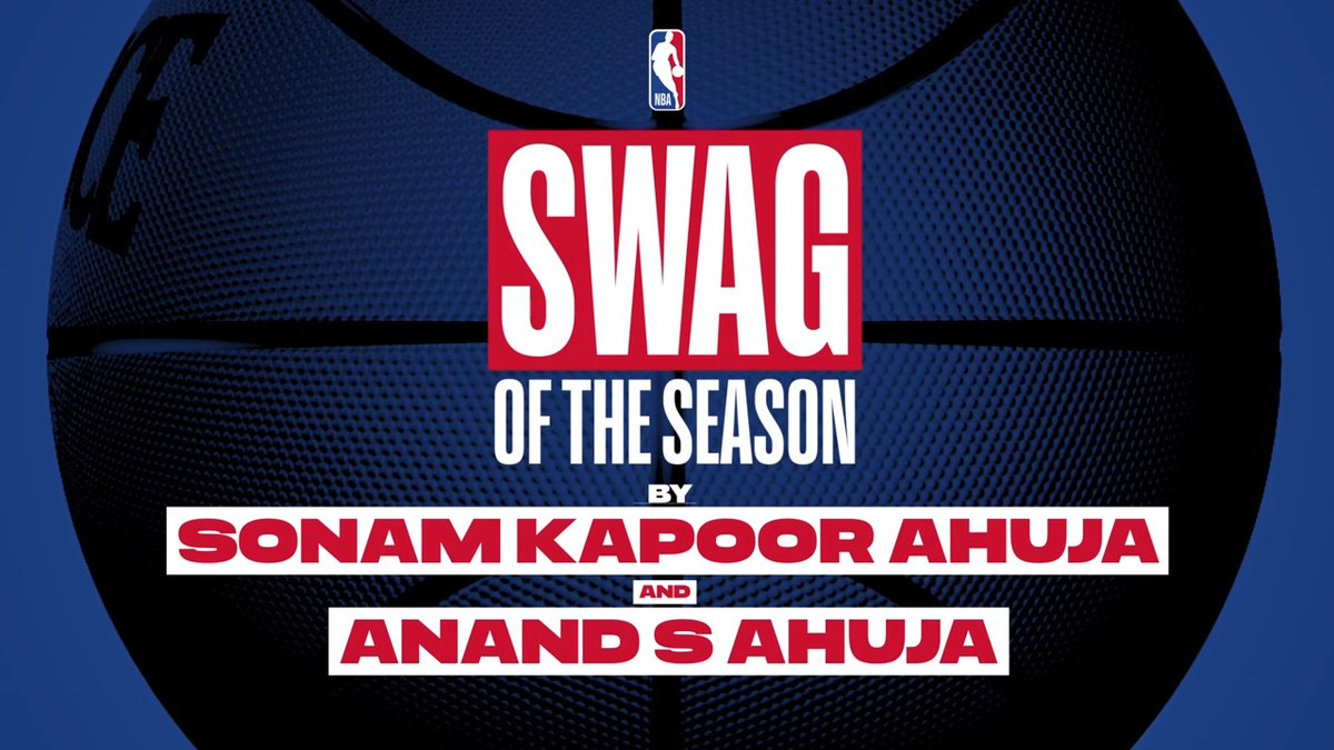 Talk NBA, talk swag! @SonamAKapoor and @AnandAhuja share their takes on which stars have the coolest attires. Catch all the #NBAPlayoffs action LIVE on Sony Six and NBA League Pass.