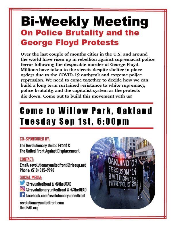 Police Brutality Meetup @ Willow Park