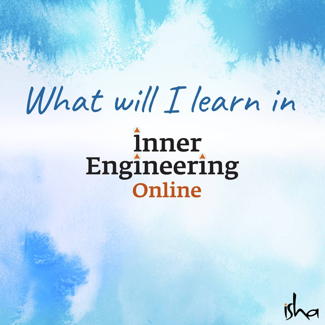 A road-map to a more peaceful, joyful and balanced you. Here are the  comprehensive steps you can take with Inner Engineering Online. 🛣️   Offered at 50% for all and free for Healthcare providers until Sept 3rd.  #MentalHealthMatters #Peace #JOY #Balance https://t.co/PY1SJtJR7c