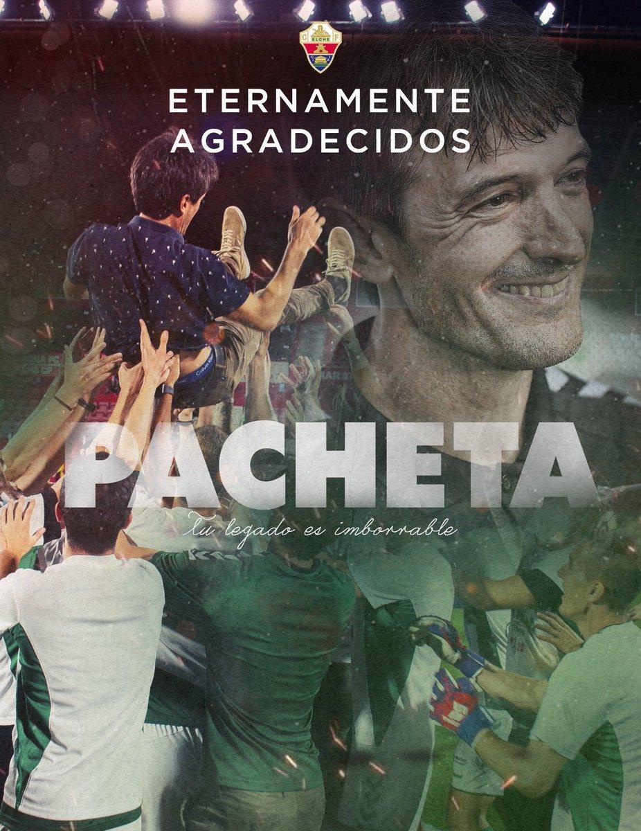 Pacheta quitte Elche