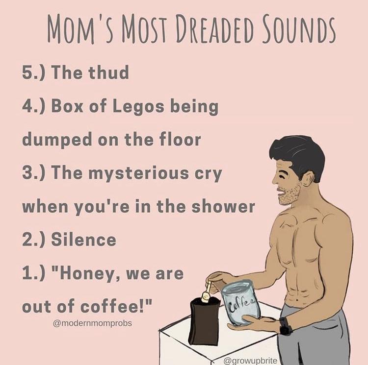 Any mommas here to confirm? 😅 #motherhood #momlifebelike #tinyhumans #momtribe https://t.co/vORd3mP9iP