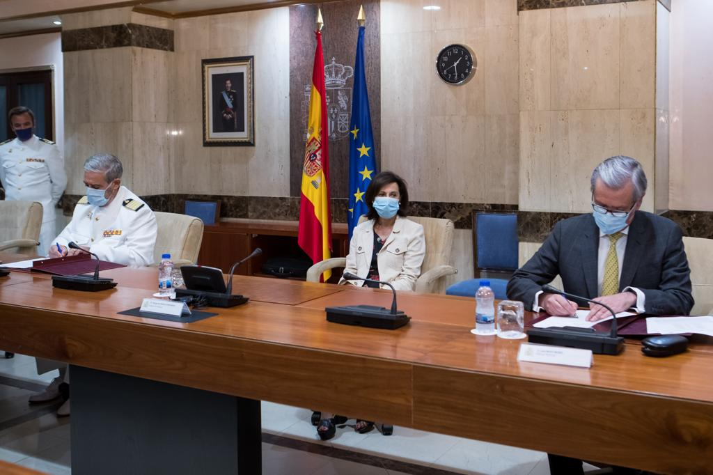 Foto cedida por Ministerio de Defensa