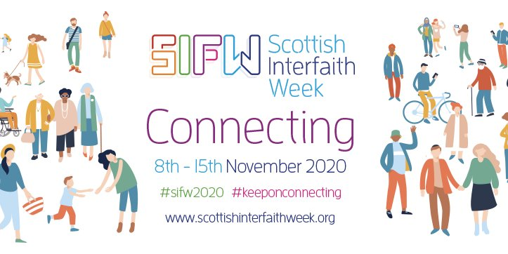 Mark it in your diaries - Scottish Interfaith Week will take place from 8th-15th November 2020. Time to start planning your events! Check out our resources for event planning and activity ideas. https://t.co/E9LzBsOsFB https://t.co/xcoRBGW0IW