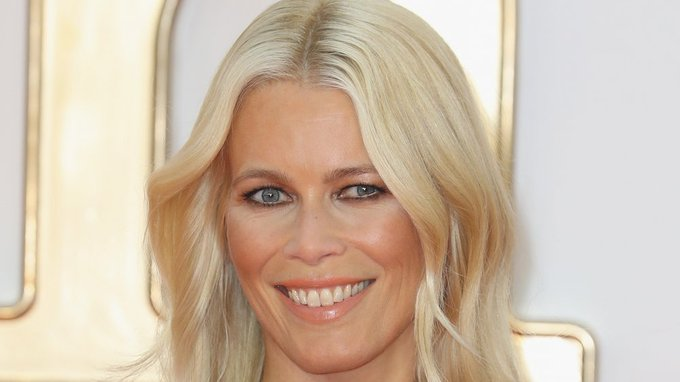 25 August 2020 Happy Birthday to German Model Claudia Schiffer 50 years old.
