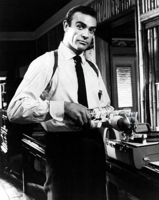 Happy 90th birthday to Connery. Sean Connery! He is aging like a fine Scotch!