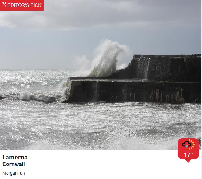 Weather warnings for strong winds once again today as Storm Francis whips up some big waves - tomorrow looks calmer at least, with some sunshine, but be aware of potential for gusts up to 70mph particularly around coasts and over hills this afternoon and tonight. https://t.co/HEzkWjm1eO
