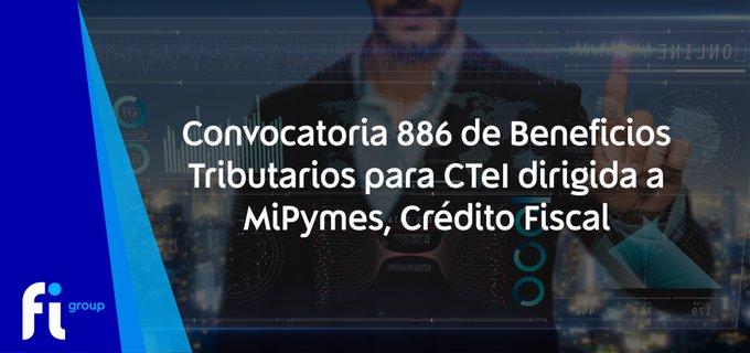 💡¡Novedad!#Convocatoria 886 de Beneficios Tributarios para  dirigida a MiPymes y gestionada ....