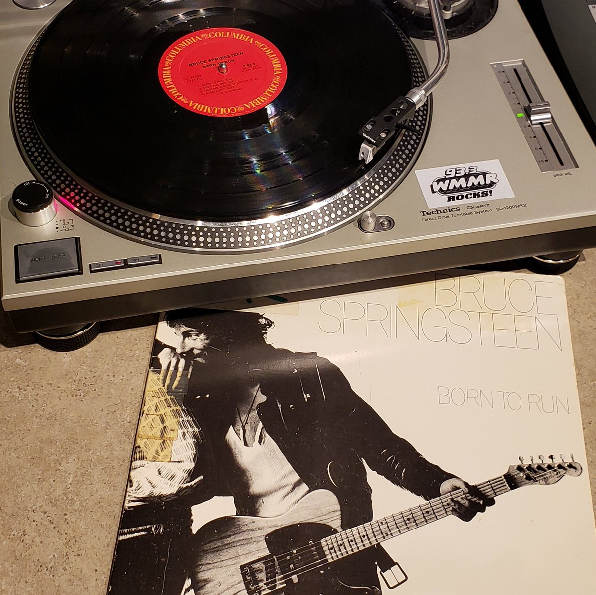 45 years ago today this masterpiece was released and premiered in Philadelphia as it blasted through the @933WMMR airwaves! @Springsteen #BornToRun is 45, tune in at 2pm and hear Side 2 in its entirety ON VINYL! https://t.co/qJHT50Xv2e