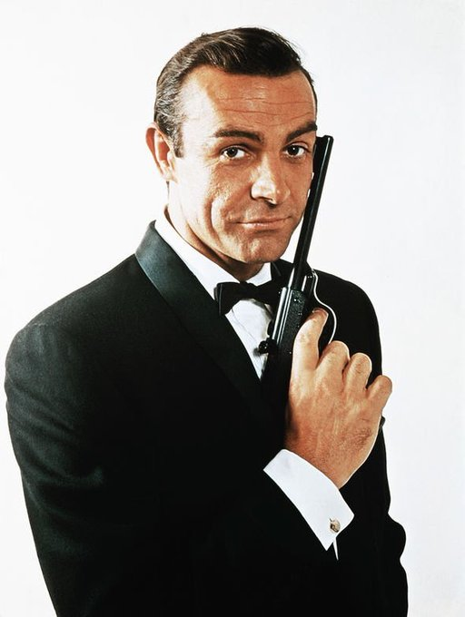 Happy 90th Birthday to Sean Connery. The first Bond, the best Bond.