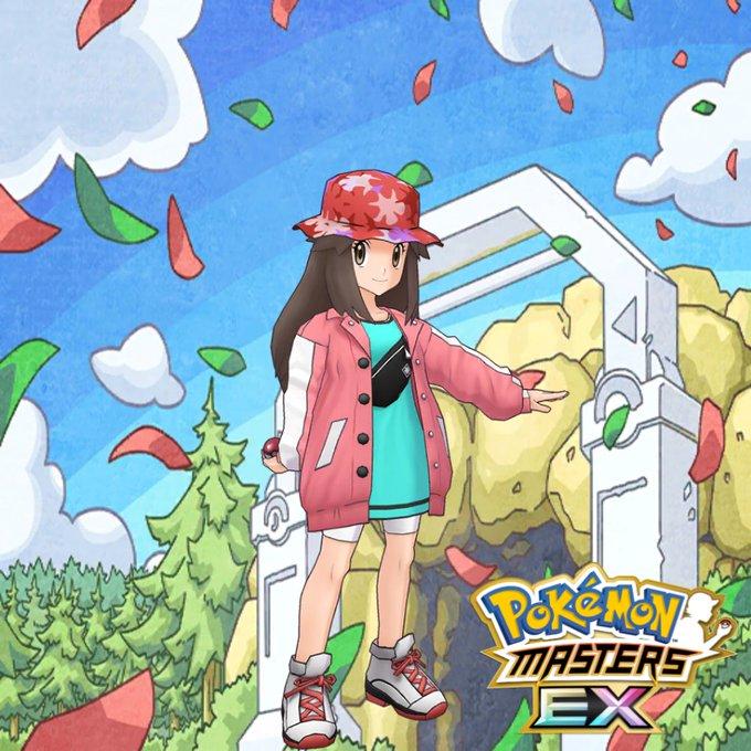 Hoja Traje S EX Pokémon Masters