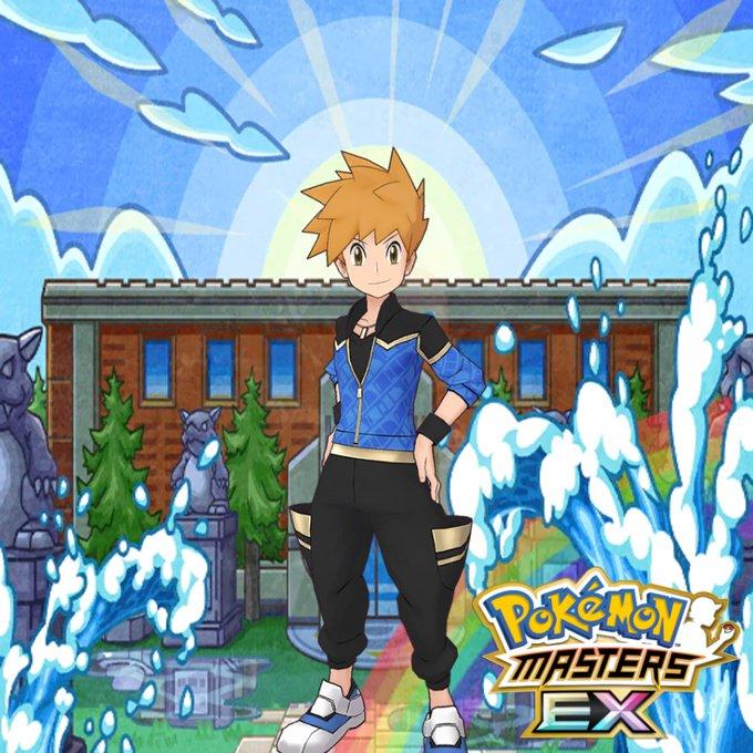 Azul Traje S Pokémon Masters
