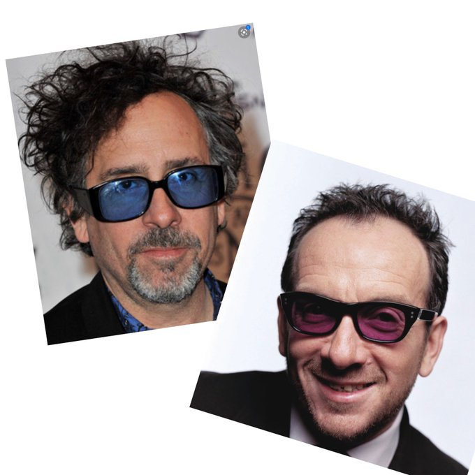 Happy Birthday Elvis Costello & Tim Burton!