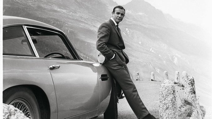 Happy 90th birthday, Sean Connery. The first Bond; the best to ever do it. Nobody did it better.