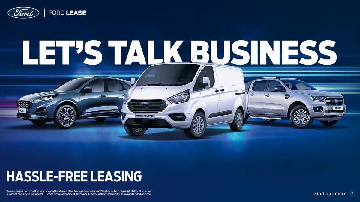 Ford Lease - Let's Talk Business