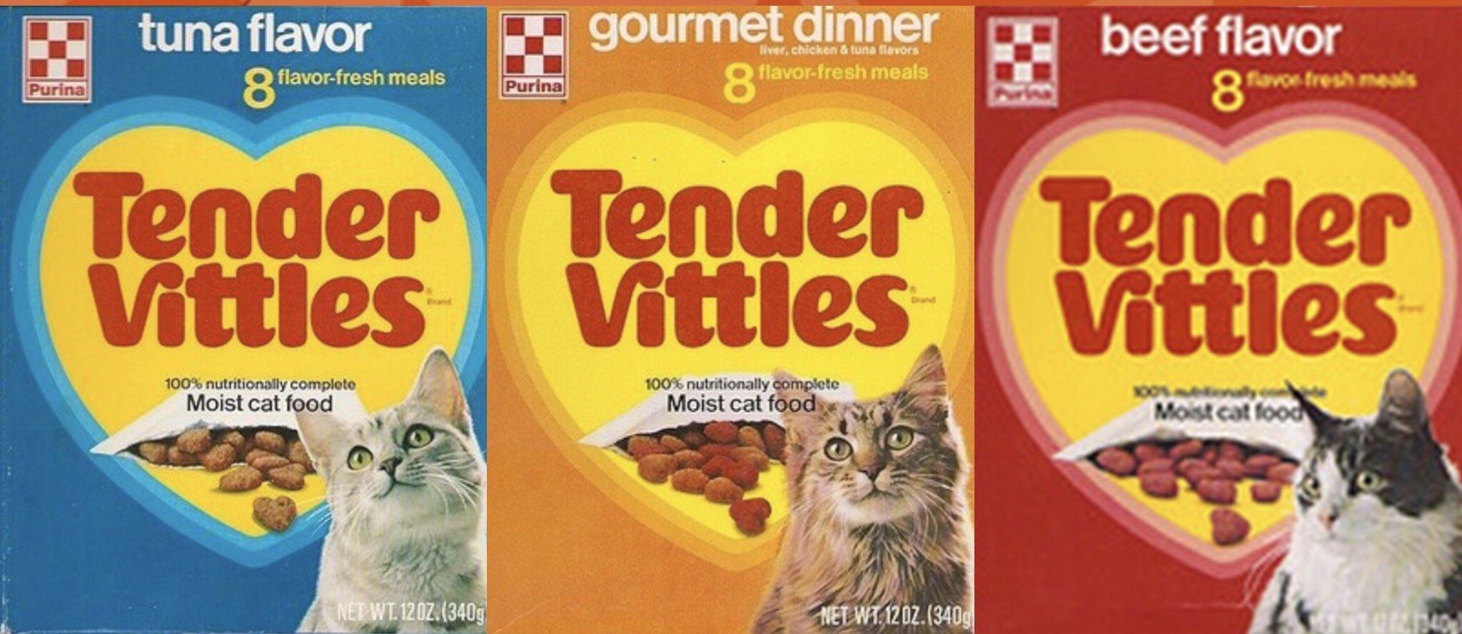 80sthen80snow On Twitter Who Fed Their Cat Tender Vittles Tendervittles Catfood Food Cats Cat Kittens Kitten Kitties Meow Tuna Chicken Gourmet Beef Https T Co 8ljwilxo3y