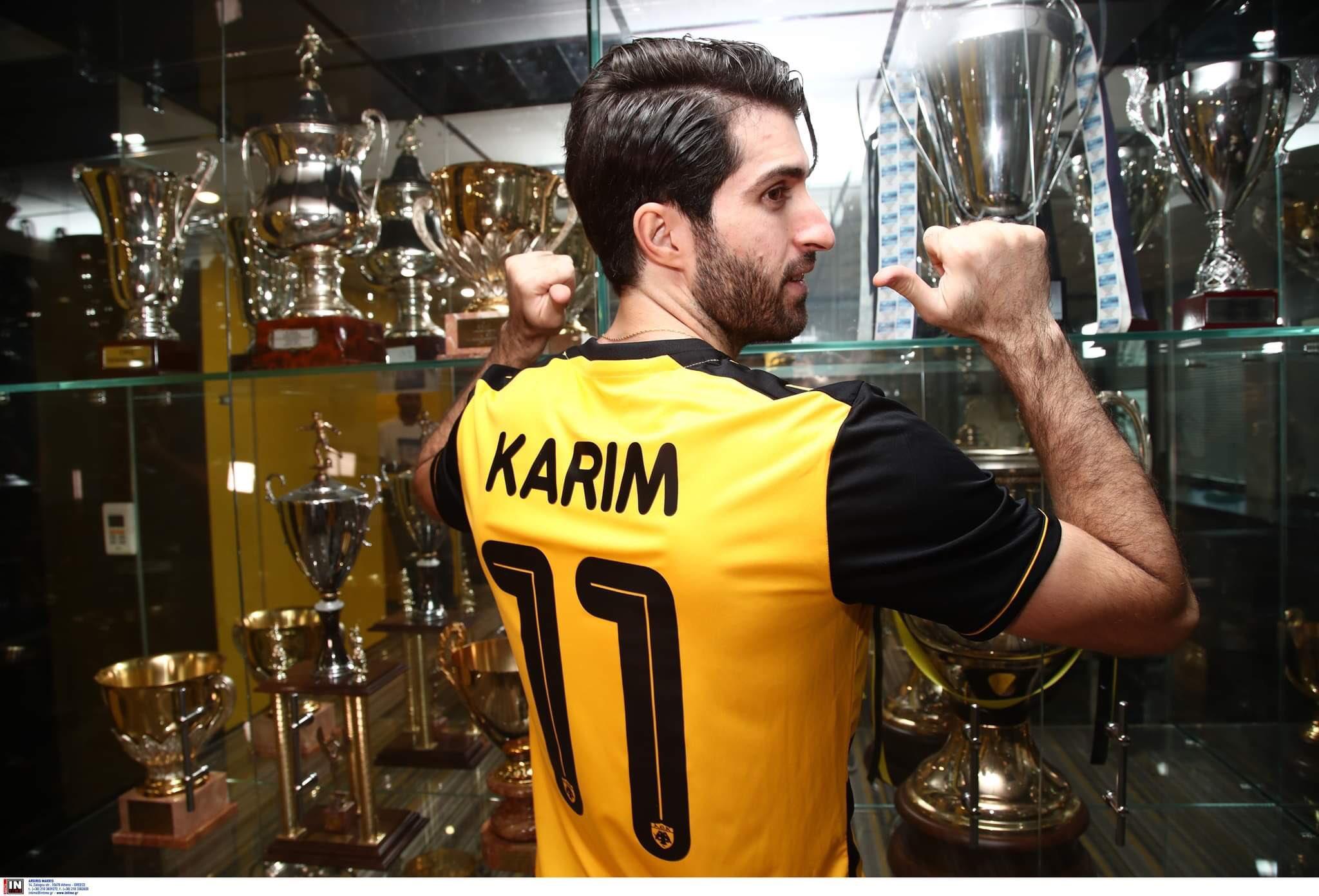 Karim Ansarifard AEK