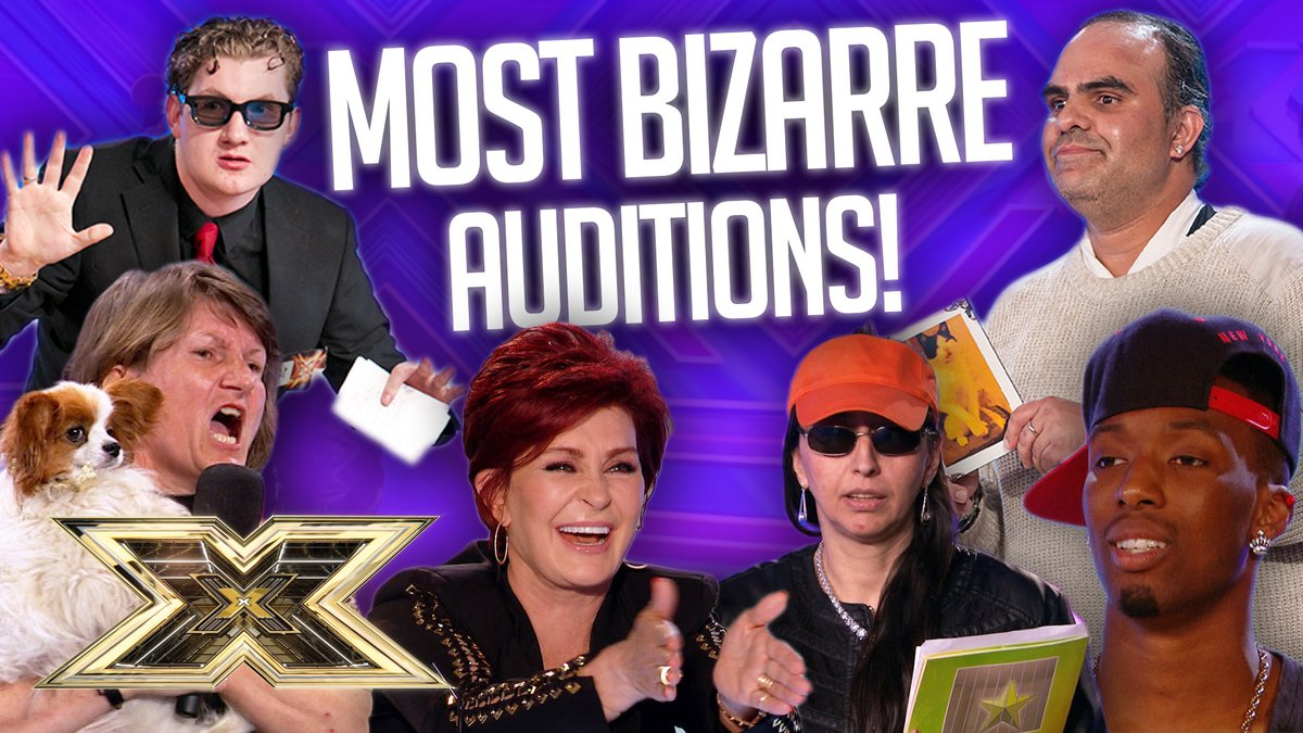 We've dug out some of #XFactor's most BRILLIANTLY BIZARRE Auditions ever!😆   Including Colin and his cat, a room audition rave from J-Koda and a whole lot more!   Go on, give it a watch >> https://t.co/3nw6fYHXZ5 https://t.co/6u8comvlsA