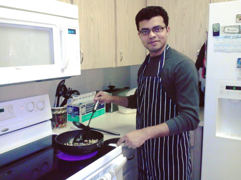 test Twitter Media - PS: No, I can't cook, but I love to eat and surely could act like cooking! 😂 BTW this is from 2013, I literally cooked that time, Eddy & Beth could vouch for me! I made them Khichuri! 😀 Throwback - Once upon a time in August! https://t.co/gc1xzGU9yt