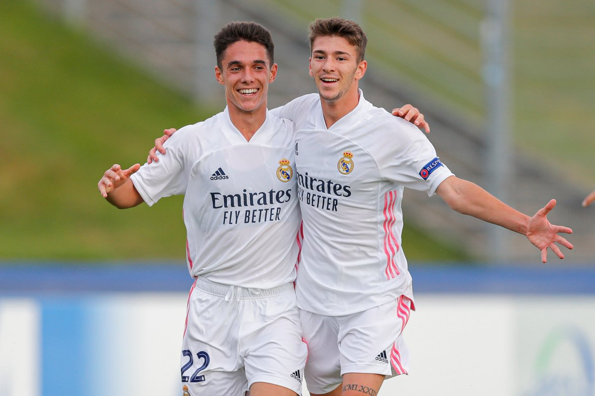 Madrid looking good for their first #UYL title 🥳  Who's scoring next?  #UYL https://t.co/uWcNRGhj44