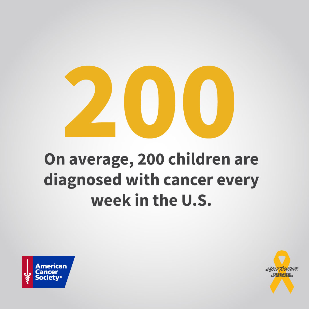 September is #ChildhoodCancer Awareness Month. Show your support by donating TODAY! https://t.co/bdCyt5WflU https://t.co/kWhYkoxxgX