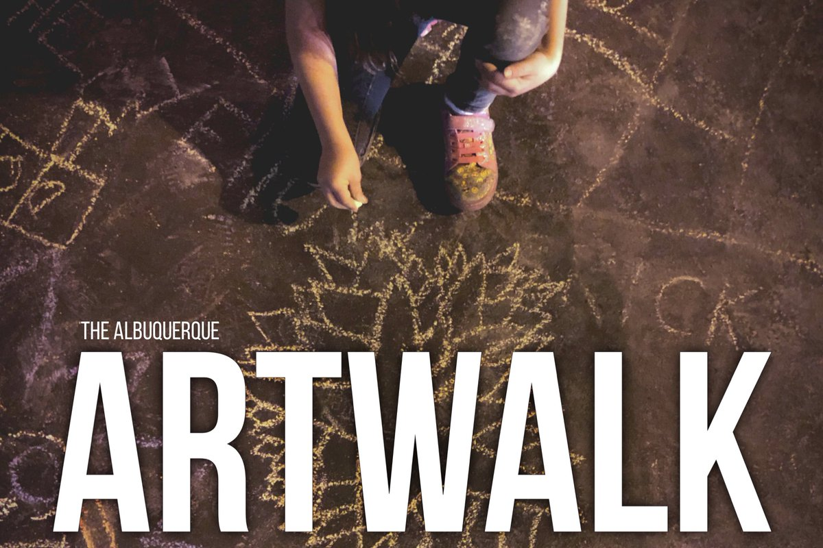 ABQ Artwalk returns Sep 4th! For this edition, we are bringing it curbside w/artists pop ups, food trucks and a few indoor exhibits! Plus outdoor performances and a live painting of a new Downtown ABQ mural! Join us Friday Sep 4th for ABQ Artwalk! Stay tuned for details! https://t.co/9cRp5BFu8i