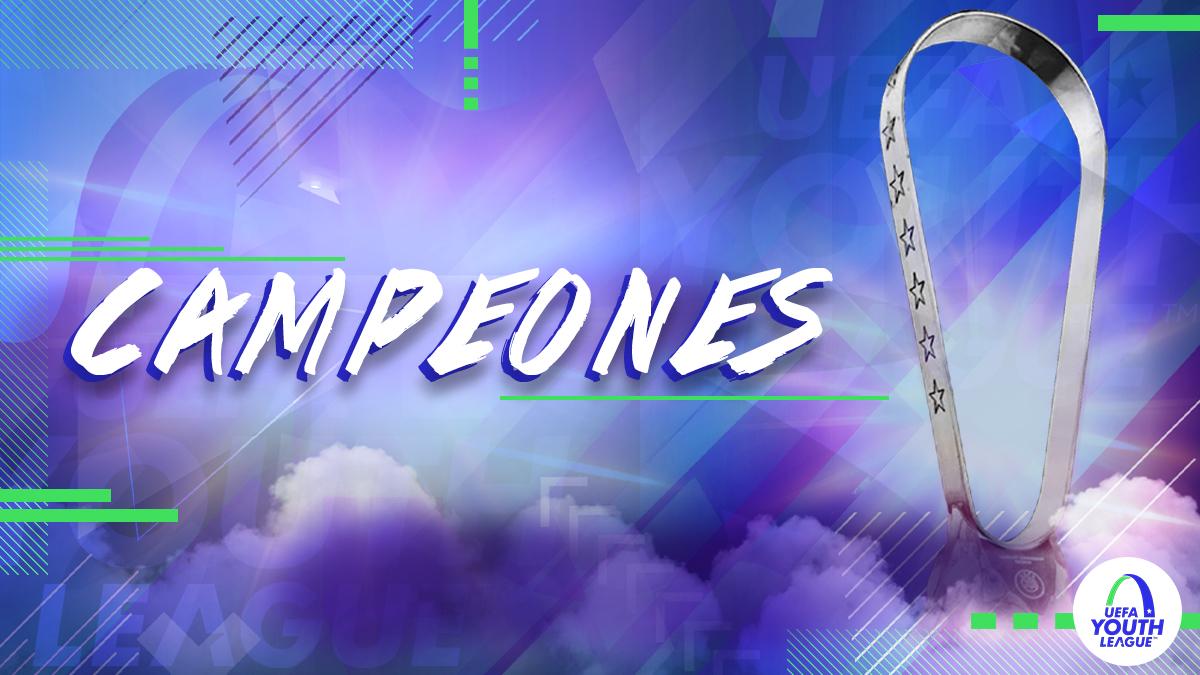 🤩 ¡Enhorabuena a @lafabricacrm!  🙌 ¡CAMPEONES! 🙌 🏆 @UEFAYouthLeague