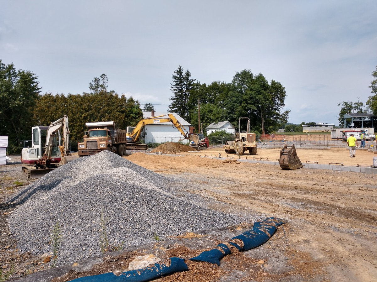 Great progress at New Bloomfield FD new building since the groundbreaking just a few short weeks ago!