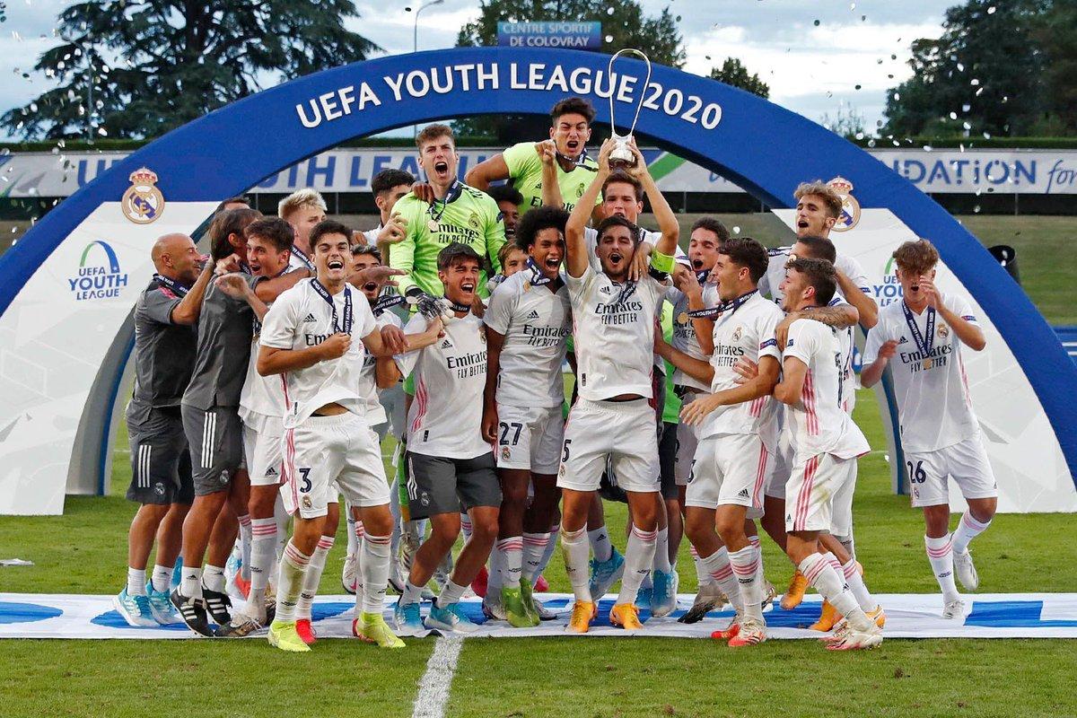 ¡Enhorabuena, chicos! ¡Campeones de Europa! 💪🏽 @lafabricacrm del @realmadrid https://t.co/QxrwitRu51
