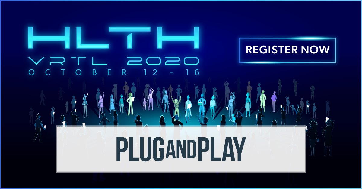We're excited to be a partner of HLTH VRTL 2020! Join us at the most important healthcare event of the year, October 12-16, 2020. #HLTH2020   Register now! https://t.co/m5dwLhBv6H (Use our code for a discount 👉 vrtl_pnp35off) https://t.co/QcySEUDzeh