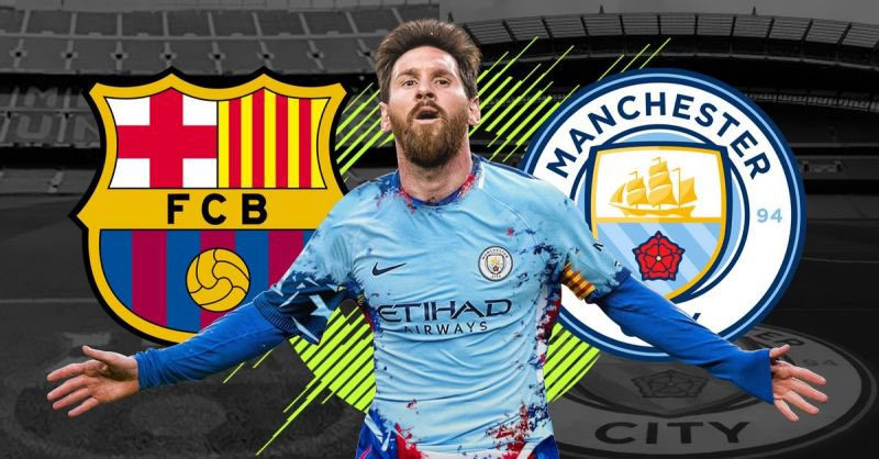 Messi to City. Reunites with Pep, linkup with his bf Aguero, and play alongside De Bruyne. I want him to stay but if he wants to leave then it gotta be City mate ❤✊🏻 https://t.co/NY4S6ty8Ct