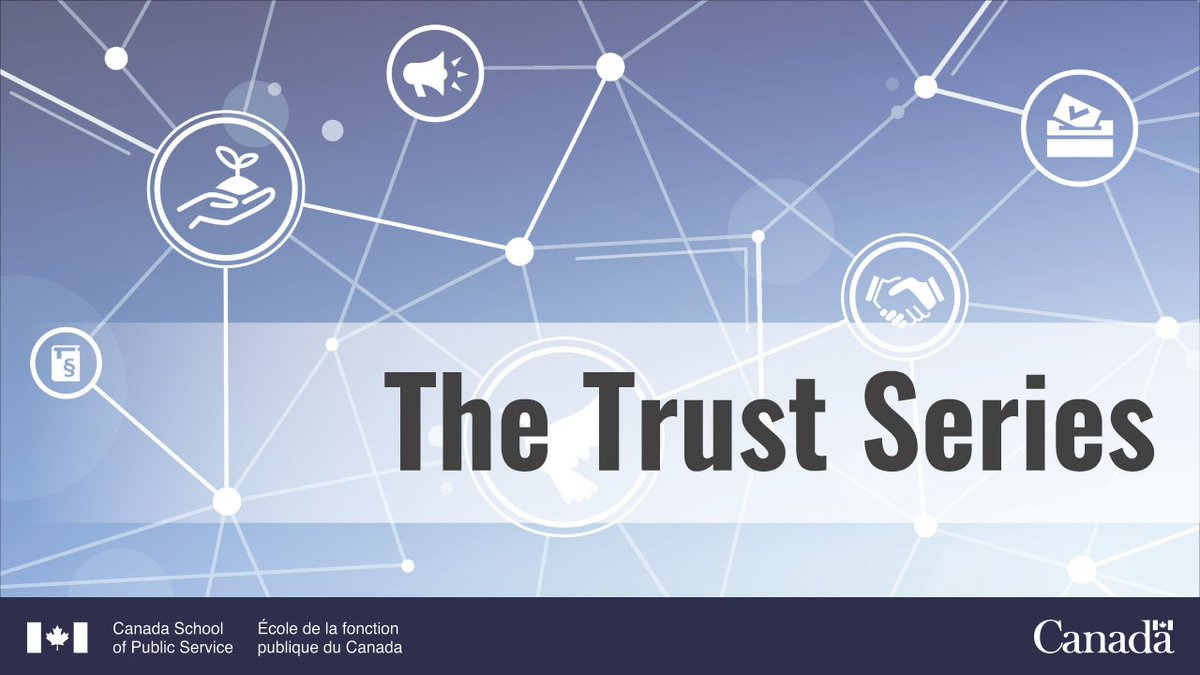 On September 1, hear from @lisakimmel of @EdelmanCanada at the first event in our new Trust Series.   Explore the latest findings of Canadians' trust in public institutions and what we, as public servants, must do to restore and rebuild it. https://t.co/7tU9vDuxUN https://t.co/qpq6xDtEeH