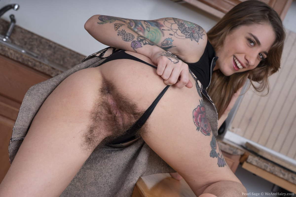 Very Hairy Pussy Pearl Sage