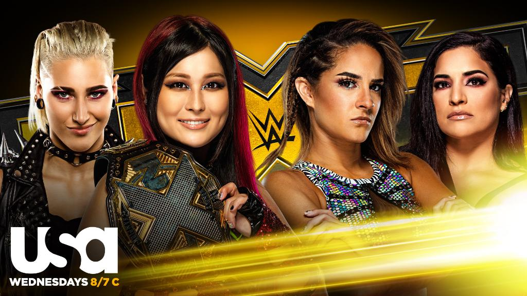 Io Shirai & Rhea Ripley Vs. Dakota Kai & Raquel González Announced For Tomorrow's WWE NXT
