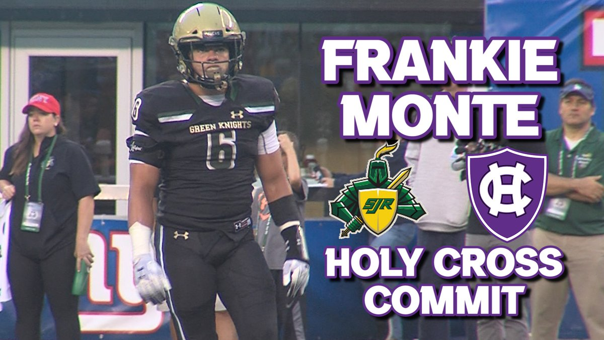 Is Holy Cross getting a steal? St. Joes (Mont.) linebacker Frankie Monte (@FrankieMonte5) is bringing some serious athleticism and tenacity to the Patriot League after committing to the Crusaders today. Watch his highlight reel + more here⬇️ 📽️: jerseysportszone.com/sjrs-frankie-m…