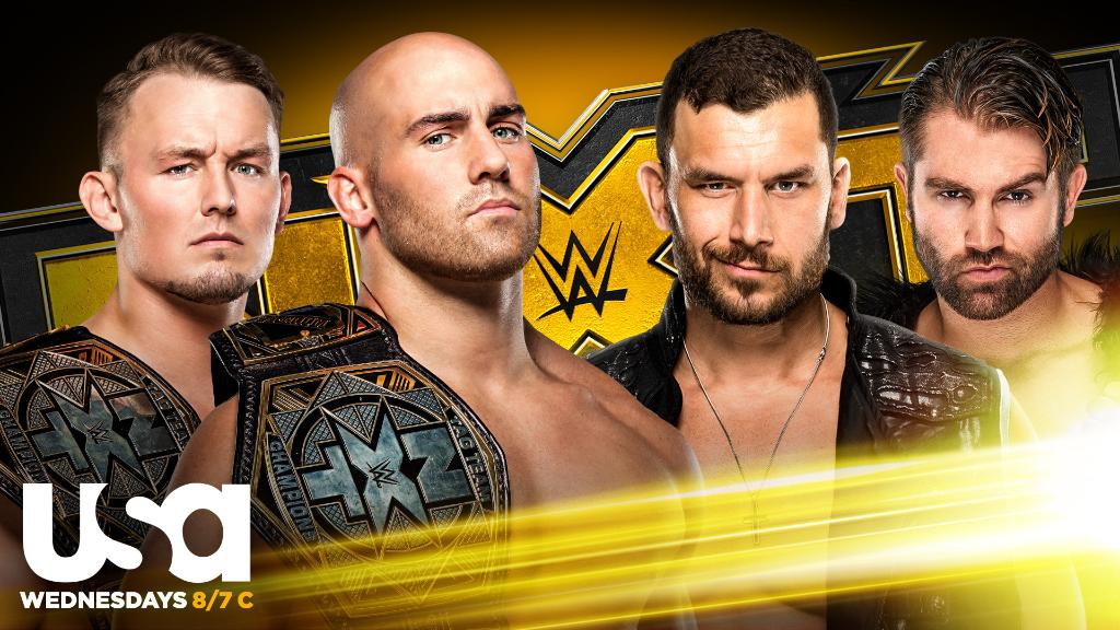 Tag Team Title Match Announced For Tomorrow's WWE NXT
