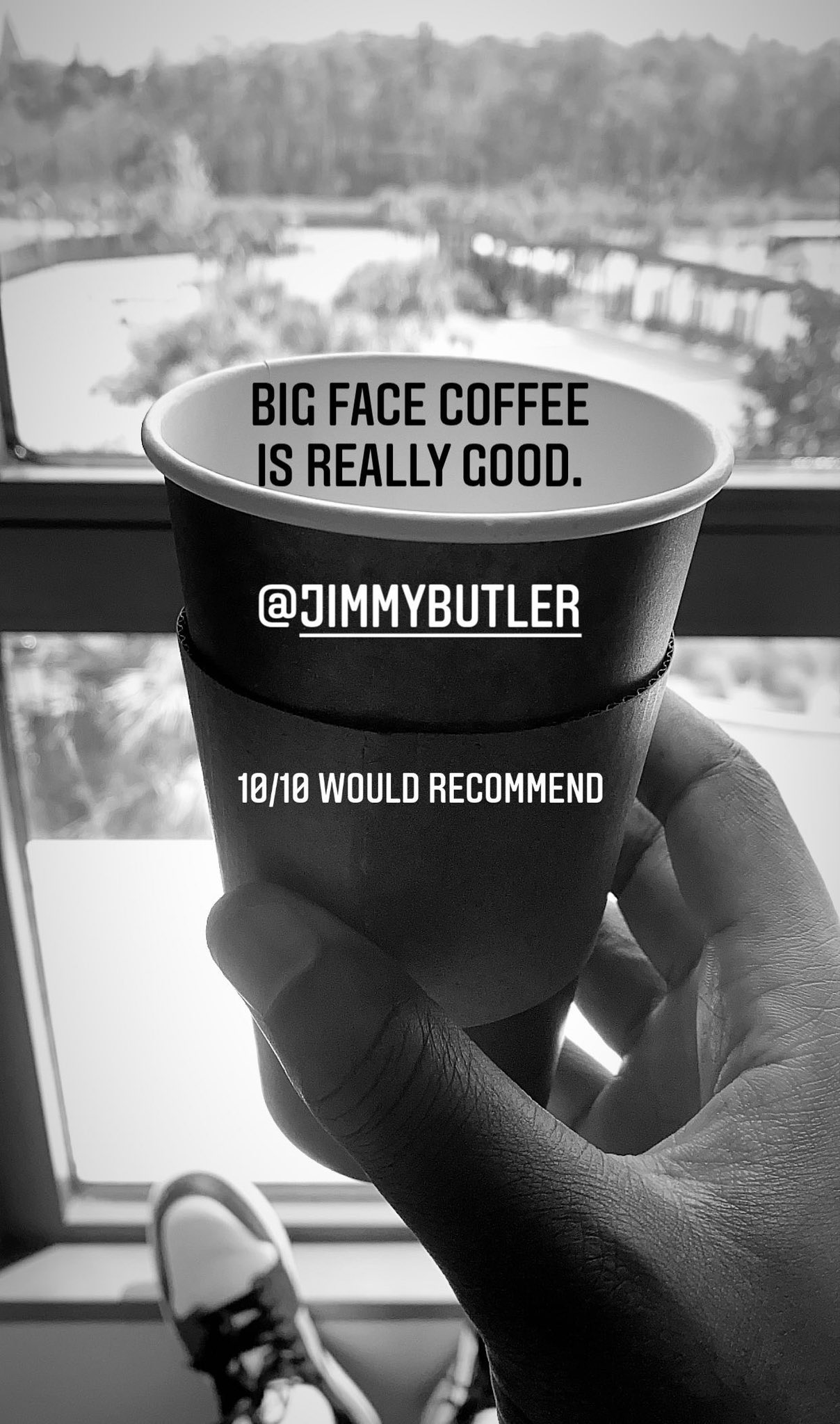Nba Bubble Life On Twitter Big Face Coffee Getting Great Reviews Jimmybutler Mister Pierce