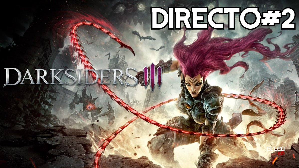 ⚠️Hoy 10 Pm. Darksiders III #2 / PC - Directo SOLO por Youtube ⚠️  Youtube!  https://t.co/FbQxopGfE5  #elleu #darksidersIII  #pc #yaestapagado #gameplay #gameplays #elleuplays #instagamer #streamer #mexico https://t.co/r22hah1yQD
