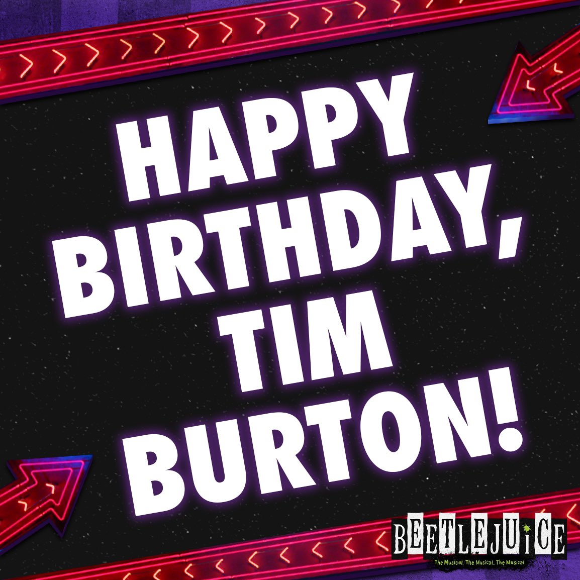 It\s a good day-o to celebrate the man that inspired our ghoulish tale...HAPPY BIRTHDAY, Tim Burton!