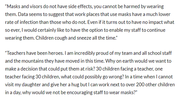 Powerful final point from the secondary school teacher I spoke to: improvingteaching.co.uk/2020/08/26/mas…