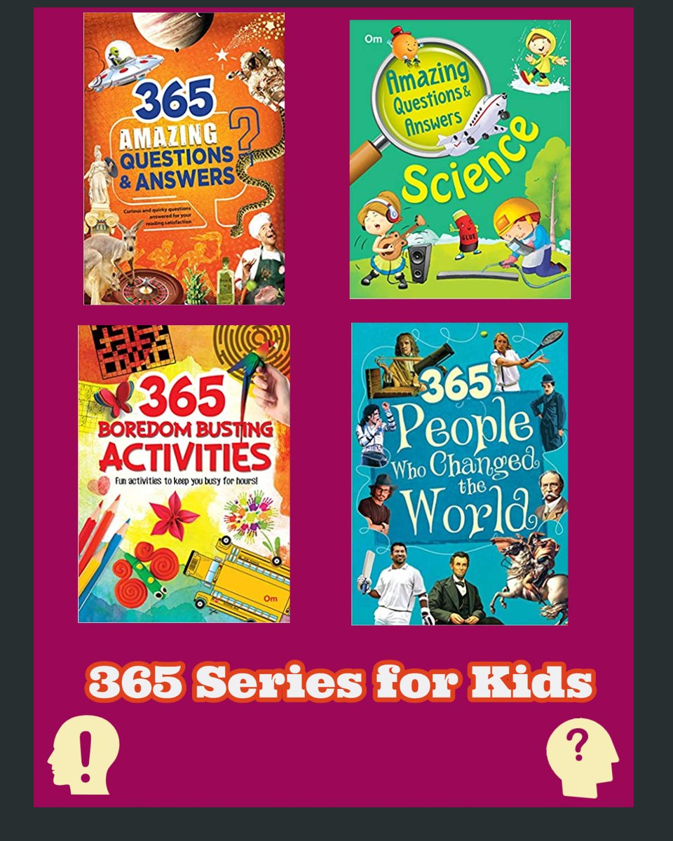 Read 365 series to satisfy your curiosity regarding some questions that must have popped in your head at some point of time. Come take a look at the quirky and interesting way in which this world works because believe it or not, it is quite amazing!. Online Store -amzn.to/3atLISe https://t.co/kN0hiurKDJ