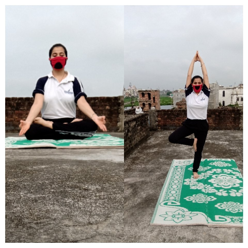 """Be the part of """" FIT INDIA MOMENT""""and show that it doesnt matter whatever we our outside or in our home we will always strive for the progress not for perfection. #FitIndiaMovement  #Moveforgood #fitness"""
