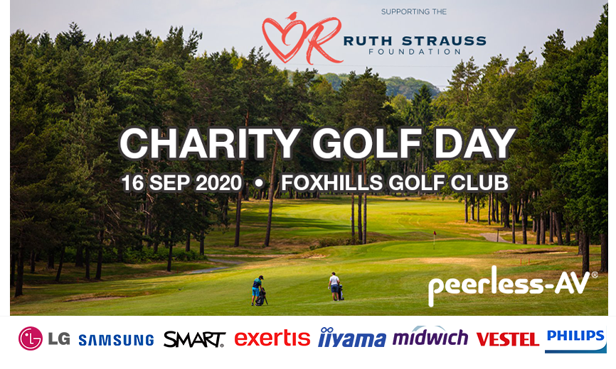 Less than one month to go until we have the pleasure of welcoming our sponsors and guests to our golf day at Foxhills Club & Resort in support of the Ruth Strauss Foundation! Looking forward to seeing to you all there. #avtweeps #golf #charitygolf #RedforRuth #foxhills https://t.co/swiiMKbWnN