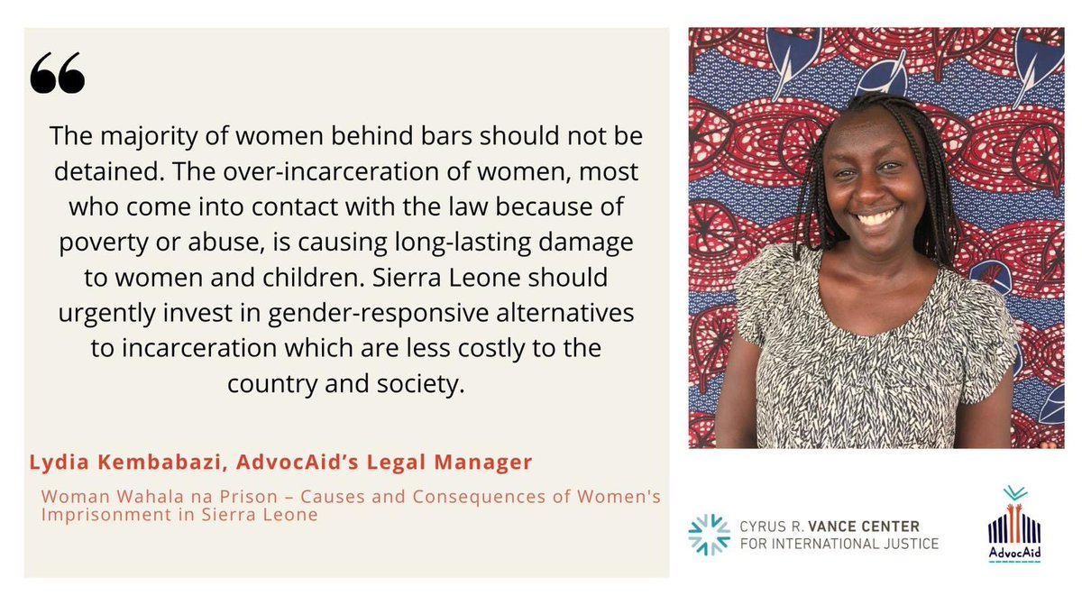 Women in #SierraLeone's prisons. https://t.co/iHi6EzOs9z
