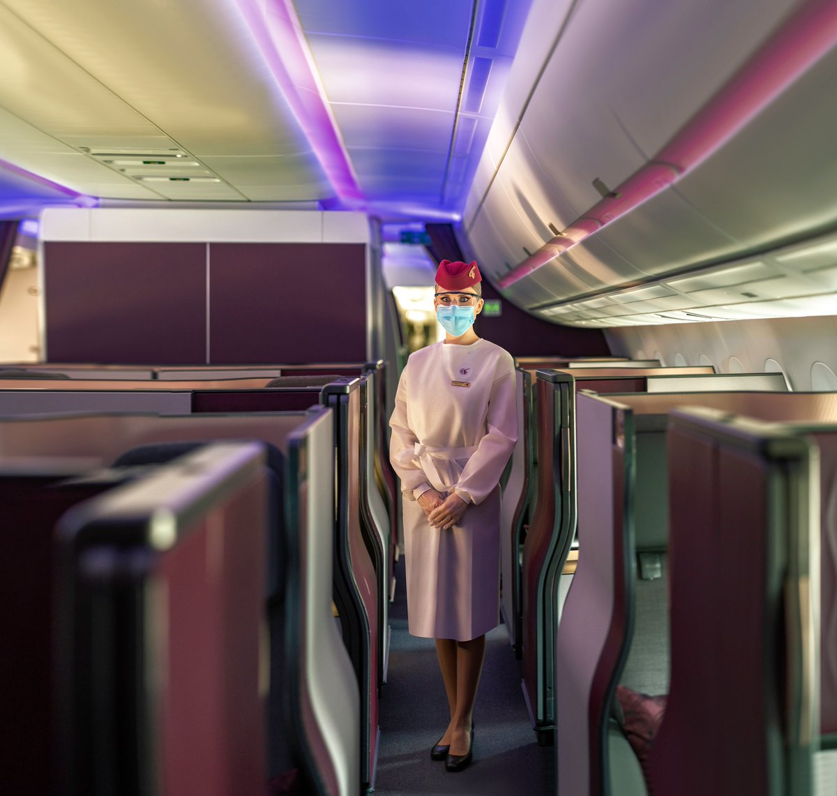 Throughout 2020 we have been offering an unparalleled experience in carrying passengers safely, reliably and uniquely. #RelyOnUs to get you to where you need to be. #QatarAirways https://t.co/7BgSe8SZnY