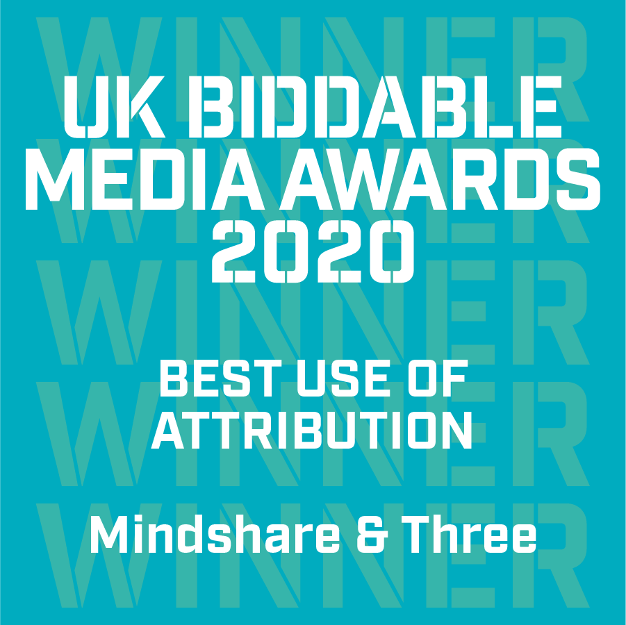 We're so proud to have won the Best Use of Attribution Award at the #UKBiddableAwards! Congratulations #TeamMindshare https://t.co/5dLW32EPGF