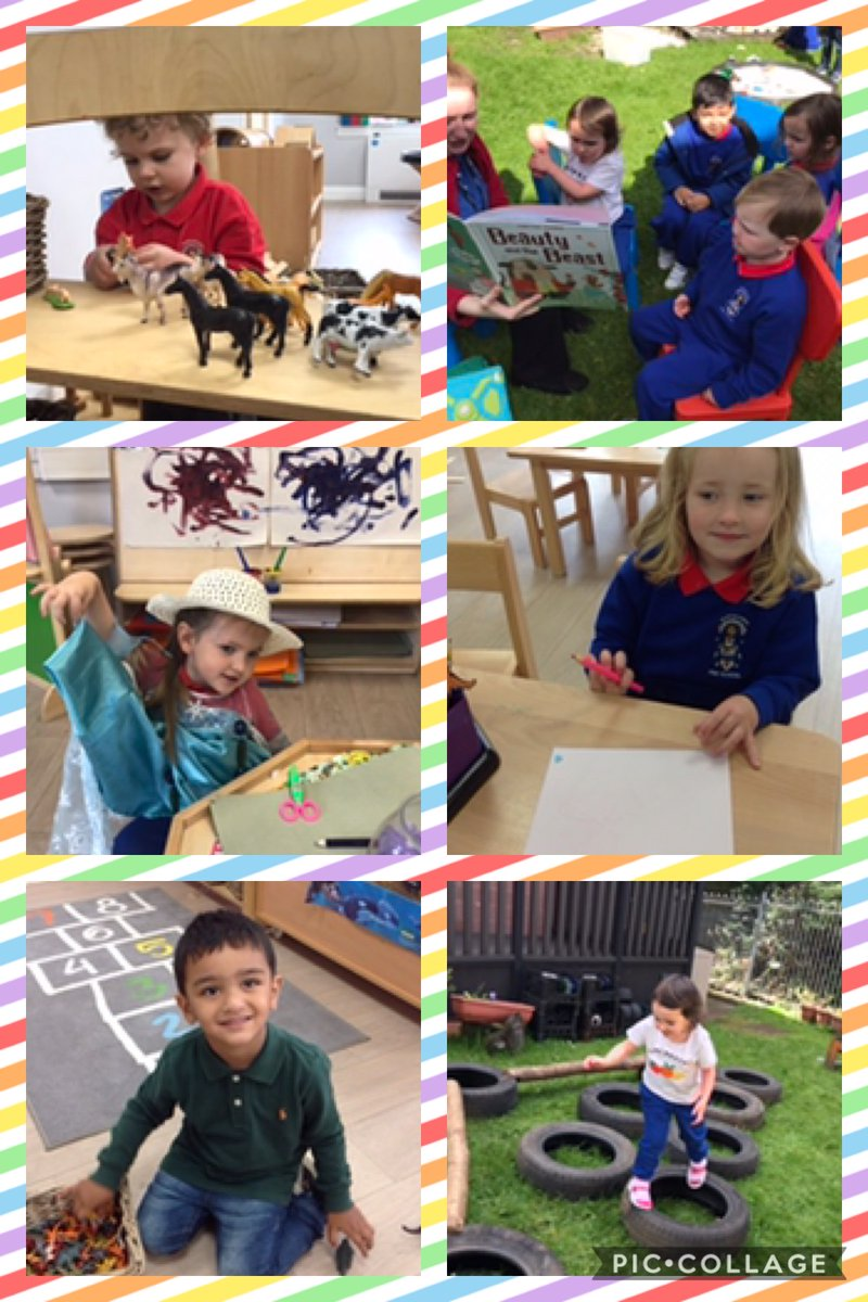 What a great start! The Pre-School team has really enjoyed welcoming our children and families, establishing those very important connections.  We can't wait to see where their learning journey takes them! #BeingMe #Belong #Flourish #Achieve https://t.co/79ZPlGgep1